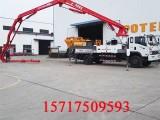 新农村利器混凝土泵车,小型建筑泵车节省时间