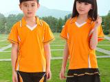 品牌直销2014夏季中小学生校服定做 运动儿童校服幼儿园园服批发