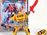 动漫玩具擎天柱/大黄蜂变形金刚两款混装 男孩变形模型玩具