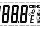 高溫電子燒烤叉芯片IC 電子溫度計IC,精準測溫,秒速讀值