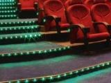 影院装修LED型材,影院台阶灯,影院PVC踏步灯,U型槽厂家