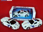 厂家直销1:32警车遥控车 遥控模型车 二通仿真遥控车模 儿童玩具