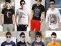 湖南夏季男装T恤哪里便宜批发纯棉尾货男装短袖T恤服装厂家直销