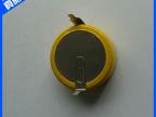 批发供应 LIR2450带焊脚锂离子扣式电池 挂卡式扣式电池