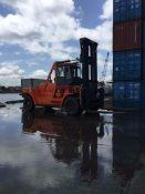 LNG叉车华南重工25吨28吨30吨LNG重型叉车参数