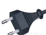 厂方供应插头电源线 VDE认证电源线插头欧规 欧标欧式插头电源线