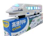 混批发电动玩具和谐号地铁列车带彩灯音乐万向火车 厂家直销玩具