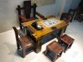 老船木家具 老船木茶桌 中山船木家具工厂定做
