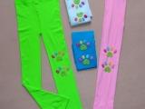 2014新款童装带图案连裤袜儿童打底裤女童卡通印花打底裤厂家批发