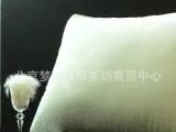 白鹅绒片丝棉单人枕保健枕头羽绒枕枕头枕芯