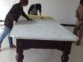 台球桌维修公司 天津台球桌拆 挪位置 装 更换台呢 配件