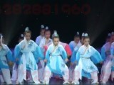五禽戏韵舞蹈演出服装 儿童古装汉服表演服 小朋友戏服 小荷风采