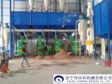 越南时产4吨木屑制粒机成套设备-田农制造