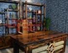 日喀则市老船木家具茶桌茶台办公桌餐桌沙发茶几椅子实木家具大门