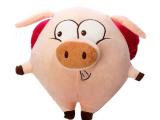 热销爆款创意毛绒玩具 卡通小猪公仔 粉红猪玩偶 儿童节礼品定制