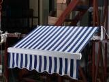 加強型伸縮棚 折迭雨篷鋁合金豪華曲臂遮陽篷 電動伸縮蓬