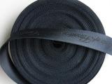 加厚包带尼龙包带2.5CM宽方框型黑色提花加厚丙纶PP织带