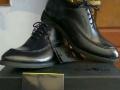 黑色、男士休闲皮鞋40码,只是试穿了一下
