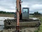 河南水路挖掘机出租湿地挖掘机出租企业创新发展