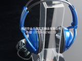 现货亚克力挂耳式耳机支架 头戴式耳麦展示架 苹果耳机架 悬挂架