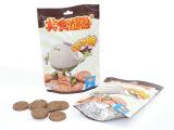 厂家直供 儿童食品 饼干 巧克力味 趣乐园ms003哒可脆