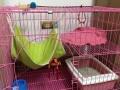 猫笼子狗笼宠物笼子双层笼子2层笼子两层笼子