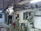 上海青浦工业区办公室排线装插座