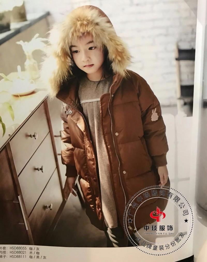 韩尚17年新款羽绒棉衣外套,专柜同款