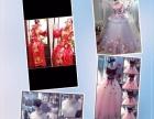 新娘早妆跟妆,出租婚纱礼服,美甲美睫