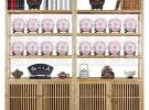 实木展示架博古架书架茶店茶具茶叶架茶饼架置物架陈列架出售