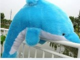 批发海豚公仔娃娃抱枕玩偶毛绒玩具 礼品生日礼物 创意礼物60CM