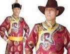 卖歌舞团高级演出男蒙古袍服装.靴子.金属牛皮宽腰带