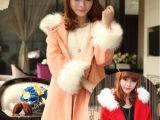 欧洲站秋冬较新款女装斗篷短款毛呢外套女式羊毛呢子大衣女士外套