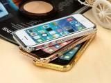 iphone5水钻边框 苹果4S/5S金属边框 镶钻手机壳 钻石