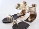 欧洲站2013波西米亚甜美罗马奢华套趾平底公主女凉鞋免费一件代销