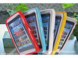 【特别推荐】诺基亚N8炫彩闪粉果冻手机套 糖果色手机套