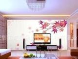 客厅电视机背景墙贴 精美家居墙纸定做 罗湖优质墙纸出口供应