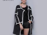 衣品湾2014新品秋冬欧美品牌风衣女装外套 羊绒毛呢 风衣 大衣