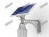 厂家批发供应锂电一体化太阳能路灯5W整夜亮灯,质保五年包换