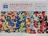 SQ105厂家直销 优质化纤女装面料 现货供应 涤纶布料 印花韩