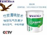 内墙竹炭清味环保油漆家装工程水漆厂家直销招商加盟广东涂料直销