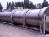 供应1.5*15米二手不锈钢滚筒烘干机