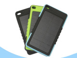 太阳能移动电源8000毫安 2015新款聚合物三防手机充电宝一件