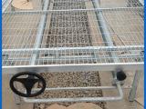 厂家直销 优质苗床架网片 铝合金边框苗床网