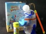 供应透明海豚吹泡泡 厂家直销热卖儿童玩具
