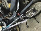 个人半价转让9.9城新高档次山地自行车一辆24速碟刹