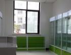 定制烤漆柜玻璃柜台汽配用品展示柜六角旋转柜