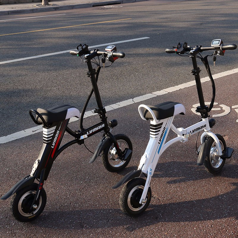 美丽都市代驾代步专用小型折叠电动车