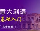 上海意大利语初级培训 教学与服务并重的多对一团队