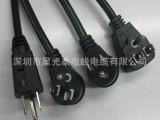 厂家直销UL认证美标插头3芯1.31平方3米美规16线 纯铜